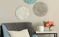 Small Medallion Wall Decor