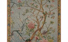 Blended Fabric Spring Blossom Tapestries