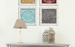 4 Piece Metal Wall Decor Sets
