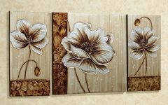 Abstract Flower Metal Wall Art