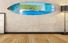 Surfboard Wall Art