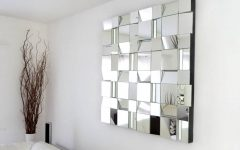 Modern Mirrored Wall Art