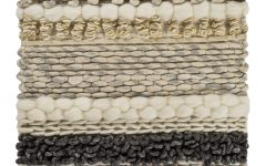 Blended Fabric Teresina Wool and Viscose Wall Hangings with Hanging Accessories Included