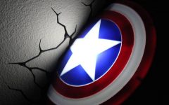Captain America 3D Wall Art