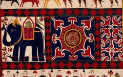 Indian Fabric Art Wall Hangings