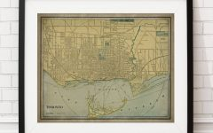 Map Wall Art Toronto