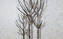 Metal Wall Art Trees And Branches