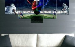 Sports Metal Wall Art
