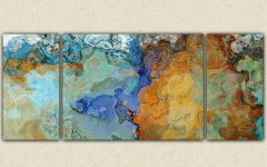 Large Triptych Wall Art