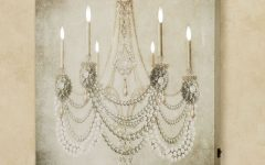 Chandelier Canvas Wall Art