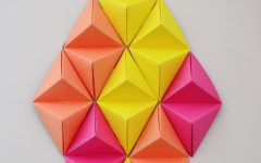 3d Triangle Wall Art