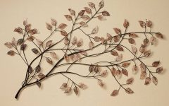 Branch Metal Wall Art