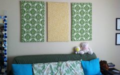 Diy Fabric Wall Art Panels