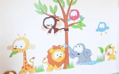 Animal Wall Art Stickers