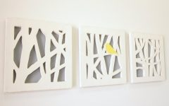 Abstract Wall Art for Bathroom