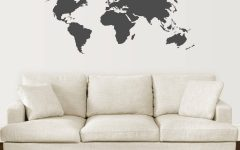 World Map Wall Artwork