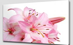 Pink Flower Wall Art
