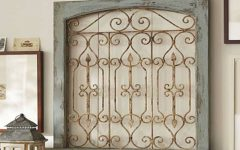 Metal Gate Wall Art