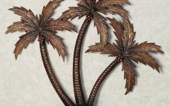 Palm Tree Metal Art