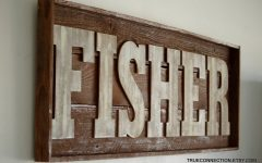 Last Name Wall Art