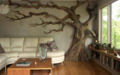 Tree Sculpture Wall Art