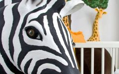 Zebra 3d Wall Art
