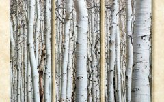 Birch Trees Canvas Wall Art