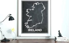 Ireland Metal Wall Art