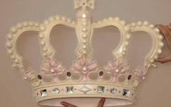 3d Princess Crown Wall Art Decor