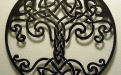 Celtic Metal Wall Art