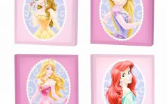 Princess Canvas Wall Art