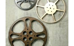 Film Reel Wall Art