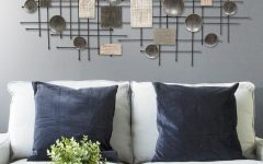 Large Modern Industrial Wall Decor