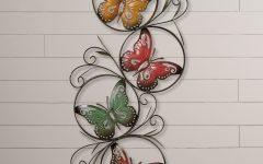 Ila Metal Butterfly Wall Decor