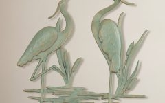 Osceola Double Heron Wall Decor
