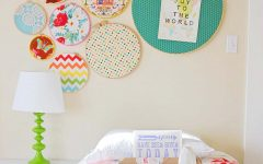 Fabric Hoop Wall Art