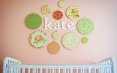 Nursery Decor Fabric Wall Art
