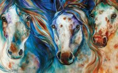 Horses Canvas Wall Art