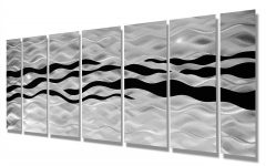 Black Silver Wall Art