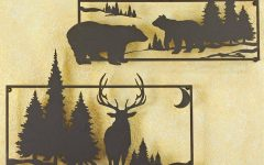 Wildlife Metal Wall Art