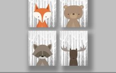 Woodland animal Wall Art