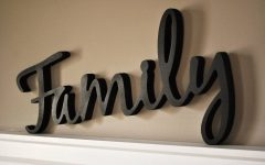 Wooden Words Wall Art