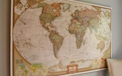 Map Wall Art Maps